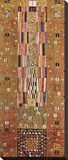 Pattern for the Stoclet Frieze, around 1905/06, End Wall Stretched Canvas Print by Gustav Klimt