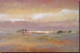 Rolling Hills II Stretched Canvas Print by T.J. Bridge