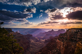 Grand Canyon North Rim Cape Royal Overlook at Sunset Photographic Print by Kris Wiktor