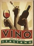 Anderson Design Group - Vino Italiano Reprodukce na plátně