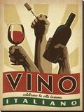 Anderson Design Group - Vino Italiano - Şasili Gerilmiş Tuvale Reprodüksiyon