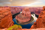 Nice Image of Horseshoe Bend Photographic Print by  diro