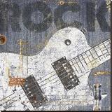 Rock Concert II Kunstdruk op gespannen doek van  NBL Studio