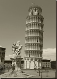Pisa Tower Stretched Canvas Print by Chris Bliss