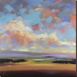Sky and Land III Stretched Canvas Print by Robert Seguin