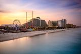 Daytona Beach, Florida, USA Beachfront Skyline. Photographic Print by  SeanPavonePhoto