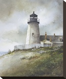 Pemaquid Stretched Canvas Print by Ray Hendershot