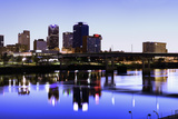 Evening in Little Rock Photographic Print by  benkrut