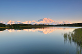 Denali Mountain and Reflection Pond Photographic Print by  lijuan