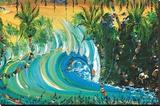 Tropical Mix Leinwand von Steven Valiere