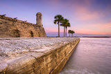 St. Augustine, Florida at the Castillo De San Marcos National Monument. Photographic Print by  SeanPavonePhoto