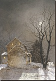 Working Late Stretched Canvas Print by Ray Hendershot