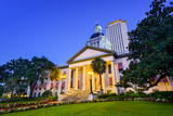 Tallahassee, Florida, USA at the Old and New Capitol Building. Photographic Print by  SeanPavonePhoto
