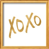 Romantic Icon I (gold foil) Posters