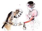 He and She Art by  okalinichenko
