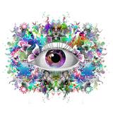 Eye Paint Splash Posters by  reznik_val