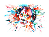 Lion Poster von  okalinichenko