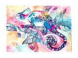 Chameleon Posters by  okalinichenko