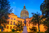 Georgia State Capitol Building in Atlanta, Georgia, Usa. Photographic Print by  SeanPavonePhoto