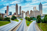Atlanta Downtown Skyline Photographic Print by Rob Hainer