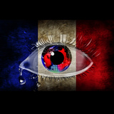 Eye and French Flag Posters by  reznik_val