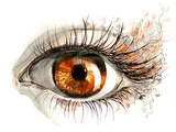 Human Eye Posters by  okalinichenko
