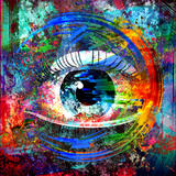 Eye Poster by  reznik_val
