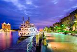 Savannah, Georgia, USA Riverfront. Photographic Print by  SeanPavonePhoto
