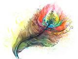 Feather Prints by  okalinichenko