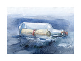 Message in a Bottle Prints by  okalinichenko