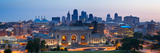 Kansas City Skyline Panorama. Photographic Print by  rudi1976