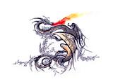 Dragon Plakaty autor okalinichenko