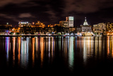 Savannah Skyline at Night Photographic Print by kvd design