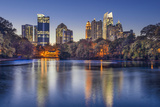 Atlanta, Georgia, USA Midtown Skyline from Piedmont Park. Photographic Print by  SeanPavonePhoto