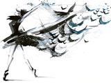 Ballet Kunstdrucke von  okalinichenko