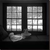 Window Seat Blizzard Toile tendue sur châssis par Tom Artin