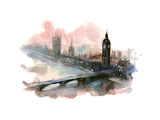 Westminster Bridge Posters by  okalinichenko