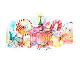 Carousels Art by  okalinichenko