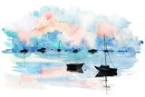 Boat Posters by  okalinichenko