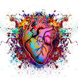 Heart Poster by  reznik_val