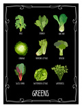 Garden Greens Posters by Brooke Witt