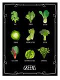 Garden Greens Reproducción por Brooke Witt
