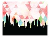 Kuala Lumpur Triangle Prints