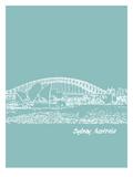 Skyline Sydney 5 Prints by Brooke Witt