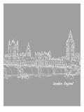 Skyline London 2 Prints by Brooke Witt