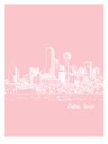 Skyline Dallas 9 Prints by Brooke Witt