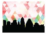 Austin Triangle Print