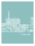 Skyline Las Vegas 5 Print by Brooke Witt