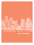 Skyline Boston 8 Art by Brooke Witt