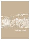 Skyline Vancouver 7 Art by Brooke Witt